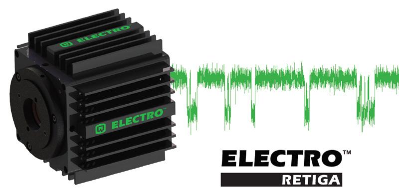 電気生理学向け高感度CCDカメラ(Retiga ELECTRO)