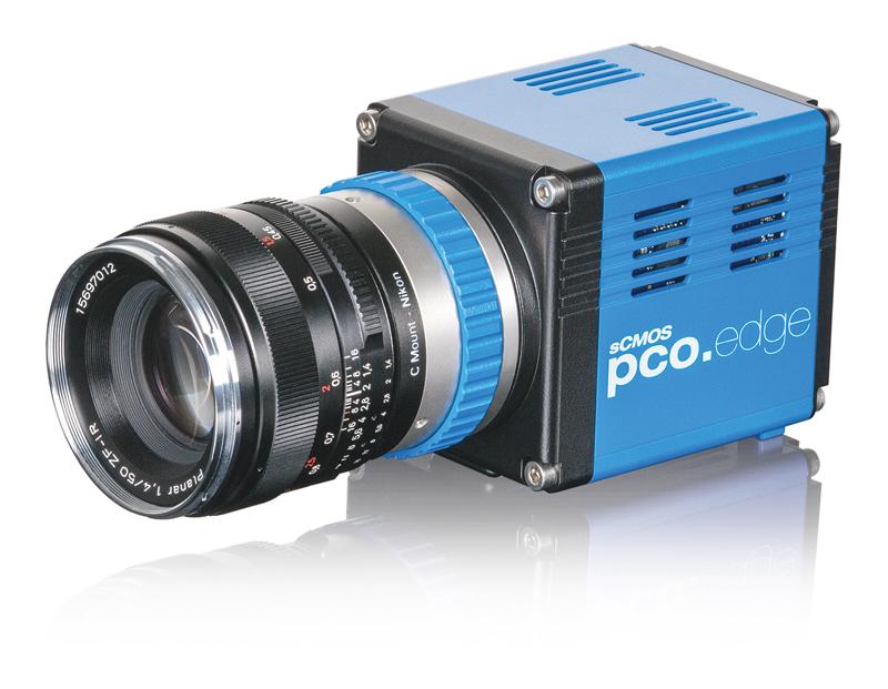 sCMOSカメラ(pco.edgeシリーズ)