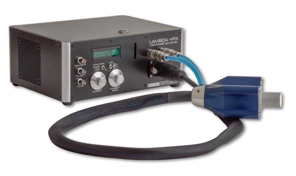 顕微鏡用高出力LED光源(LAMBDA HPX)