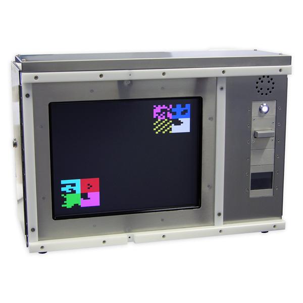 霊長類用タッチスクリーン認識学習装置