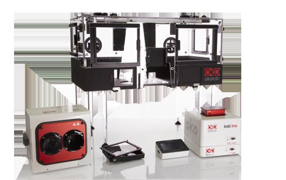 顕微鏡用細胞培養装置(ケージタイプ)