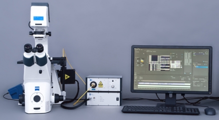 光学顕微鏡用レーザー イルミネーション システム(UGA-42)
