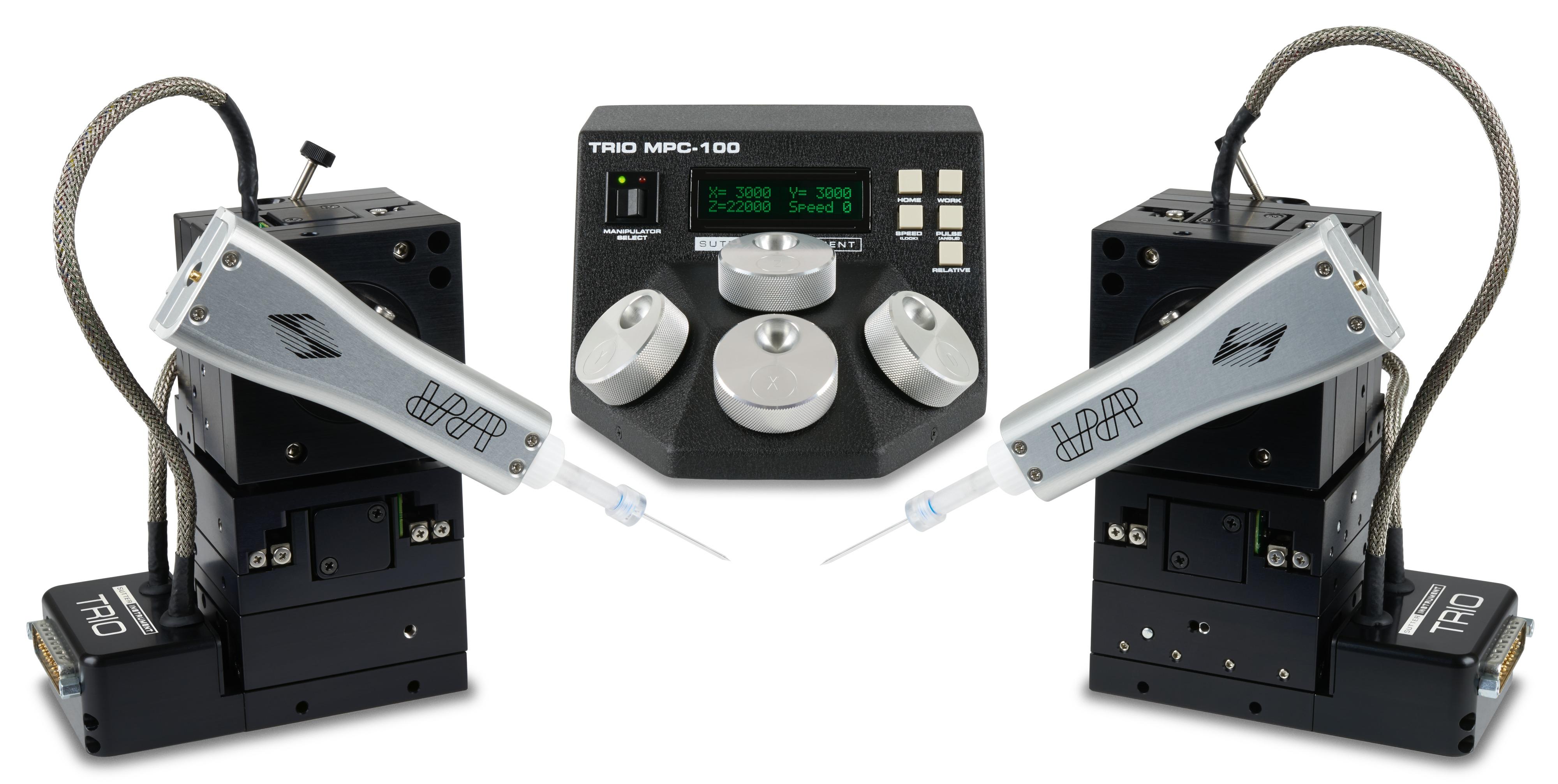 マイクロマニピュレータ TRIO™ MPC-100システム