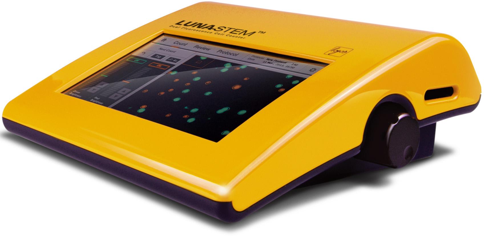 LUNA-STEM™ 2波長蛍光自動セルカウンター